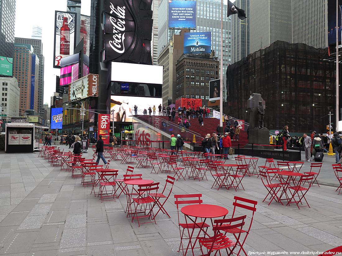 В Нью-Йорке продолжается охота на пешеходов