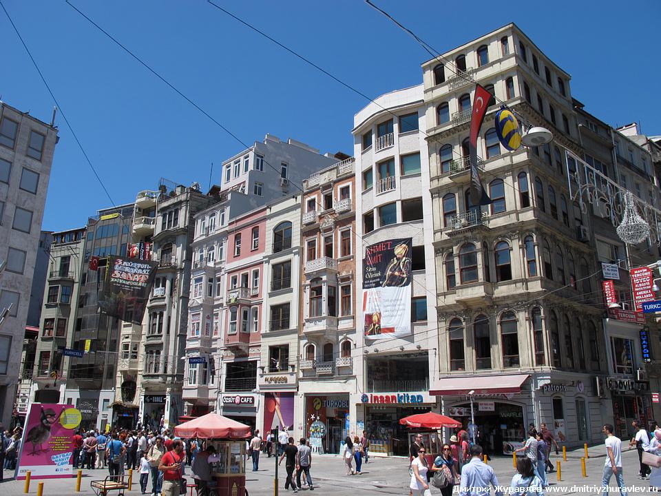 Пешеходная улица стамбула эта улица